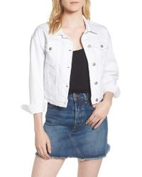 Joe's - Dolman Crop Denim Jacket - Lyst