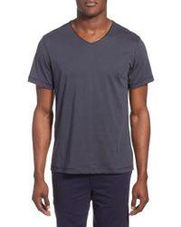 Daniel Buchler   Peruvian Pima Cotton V-neck T-shirt   Lyst