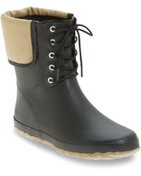 Dav - Lace-up Mid Weatherproof Boot - Lyst