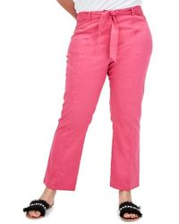 Elvi - The Dioxide High Waist Cigarette Pants - Lyst
