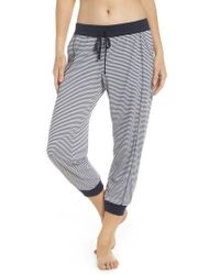 Splendid - Crop Pajama Pants - Lyst