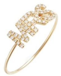 EF Collection - Mrs. Diamond Ring - Lyst