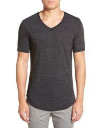 Goodlife - Scallop Triblend V-neck T-shirt - Lyst