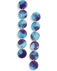 Lele Sadoughi - Circle Garland Drop Earrings (nordstrom Exclusive) - Lyst