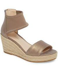 Pelle Moda - Kona Platform Wedge Sandal - Lyst