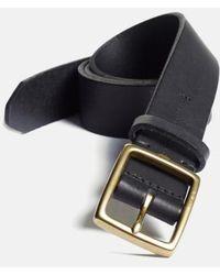 Rag & Bone - Rugged Leather Belt - Lyst