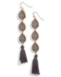 Panacea | Linear Earrings | Lyst