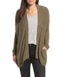 Caslon - Caslon Drop Shoulder Cardigan - Lyst