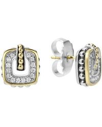 Lagos - 'cushion' Stud Earrings - Lyst