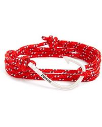 Miansai | Hook & Rope Wrap Bracelet | Lyst