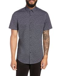 Calibrate - Slim Fit Print Non-iron Sport Shirt - Lyst