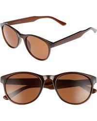 fc7947039c1812 Lyst - size    Nickelson Wayfarer Tortoise Sunglasses in Brown for Men