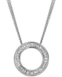 Bony Levy - 'circle Of Life' Medium Diamond Pendant Necklace (nordstrom Exclusive) - Lyst