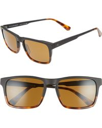 8c5a28d20f7 Vuarnet - Large District 54mm Sunglasses - Matt Black   Tortoise - Lyst