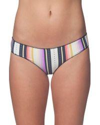 Rip Curl - Sayulita Stripe Hipster Bikini Bottoms - Lyst