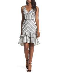 Adelyn Rae | Lucille Sleeveless Ruffle Dress | Lyst