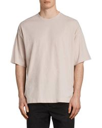 AllSaints - Atnom Crewneck T-shirt - Lyst