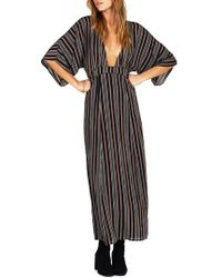 Amuse Society - Forever & Day Stripe Maxi Dress - Lyst