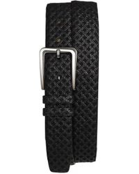 Mezlan - 'brill Ascot' Leather Belt - Lyst