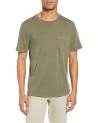 Billy Reid - Slim Fit Crewneck T-shirt - Lyst