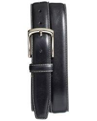 Torino Leather Company - Burnished Leather Belt - Lyst