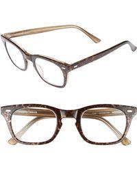 Corinne Mccormack - 'toni' 48mm Reading Glasses - Dark Leopard - Lyst
