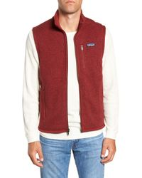 Patagonia - 'better Sweater' Zip Front Vest - Lyst
