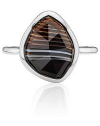 Monica Vinader - Siren Nugget Semiprecious Stacking Ring - Lyst