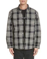 Noon Goons - Lbc Plaid Flannel Shirt Jacket - Lyst