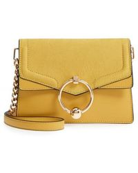 TOPSHOP - Seline Faux Leather Crossbody Bag - Lyst