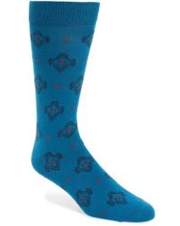Ted Baker - Veryhip Medallion Socks - Lyst