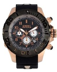 Kyboe - ! 'empire' Chronograph Silicone Strap Watch - Lyst