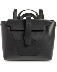 Senreve - Medium Maestra Pebbled Leather Convertible Satchel - Lyst
