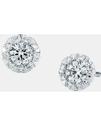 Kwiat - 'sunburst' Stud Earrings - Lyst