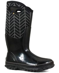 Bogs - Classic Tall Badge Waterproof Snow Boot - Lyst