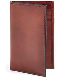 Bosca - 'old Leather' Card Case - - Lyst