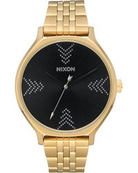Nixon - The Clique Bracelet Watch - Lyst