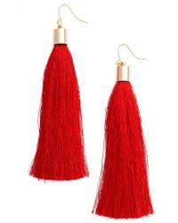 Adia Kibur - Tassel Earrings - Lyst