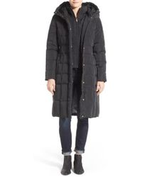 Cole Haan | Cole Haan Bib Insert Down & Feather Fill Coat | Lyst