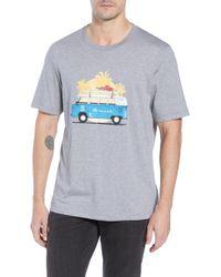 Travis Mathew - Shibby Crewneck T-shirt - Lyst