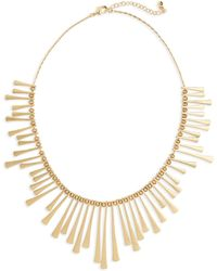 Panacea - Bar Bib Necklace - Lyst