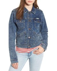 Wrangler - Denim Jacket - Lyst