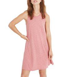 a8d23e9dbc White Retro Waisted Dress.  138. Shopbop · Madewell - Highpoint Tank Dress  - Lyst