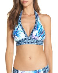 407ecabc8f234 Lyst - Tommy Bahama Tropical Swirl Underwire Bikini Top in White