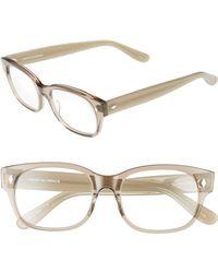 Corinne Mccormack Rihanna 50mm Reading Glasses - Transparent Grey