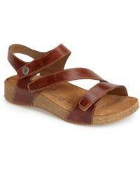 Josef Seibel - 'tonga' Leather Sandal - Lyst