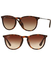 Ray-Ban - Erika 54mm Sunglasses - Lyst