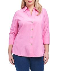Foxcroft - 'paige' Non-iron Cotton Shirt - Lyst