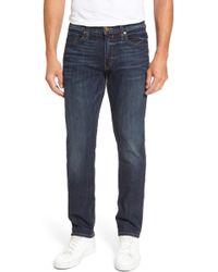 PAIGE - Legacy - Federal Slim Straight Leg Jeans - Lyst