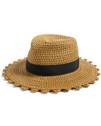 Eric Javits - Cannes Squishee Straw Hat - Lyst